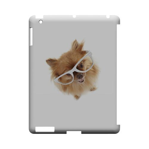 Pomeranian Geeks Designer Line Puppy Series Slim Hard Case for Apple iPad (3rd & 4th Gen.)