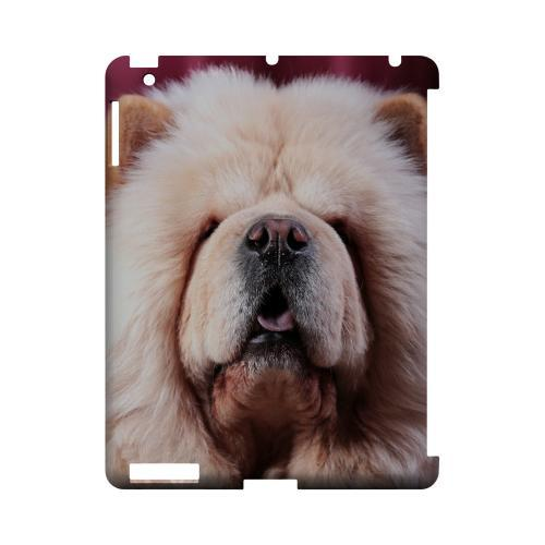 Chow Chow Geeks Designer Line Puppy Series Slim Hard Case for Apple iPad (3rd & 4th Gen.)