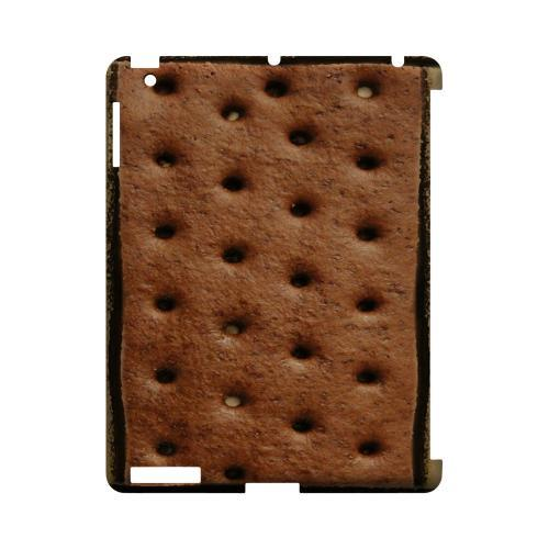 Ice Cream Sandwich Geeks Designer Line Candy Series Slim Hard Back Cover for Apple iPad (3rd & 4th Gen.)