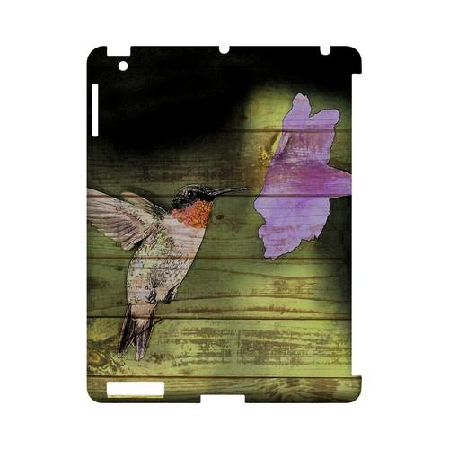 Hummingbird - Geeks Designer Line (GDL) Asian Print Series Hard Back Cover for Apple iPad (3rd & 4th Gen.)