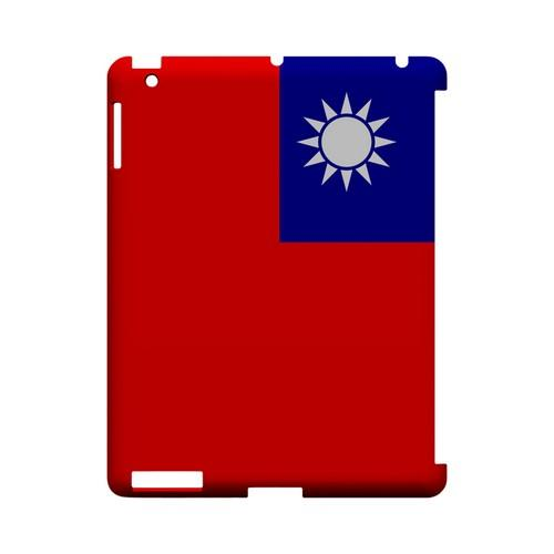 Taiwan Geeks Designer Line Flag Series Slim Hard Case for Apple iPad (3rd & 4th Gen.)