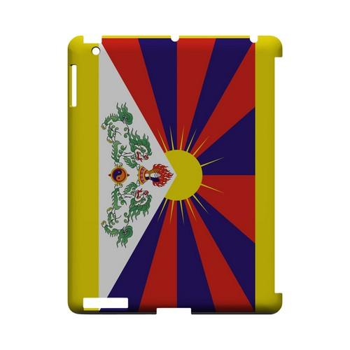 Tibet Geeks Designer Line Flag Series Slim Hard Case for Apple iPad (3rd & 4th Gen.)