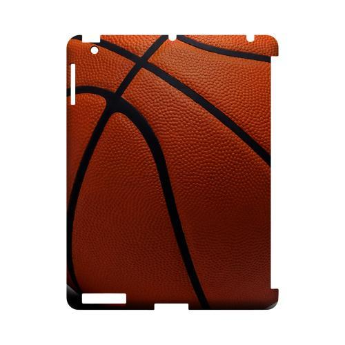 Basketball Geeks Designer Line Sports Series Slim Hard Case for Apple iPad (3rd & 4th Gen.)