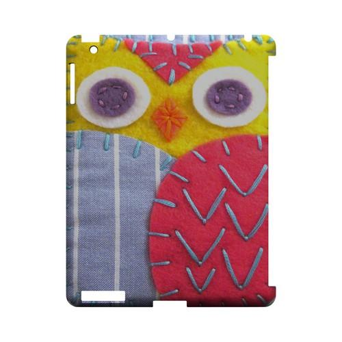 Yellow/ Pink Owl Geek Nation Program Exclusive Jodie Rackley Series Hard Case for Apple iPad (3rd & 4th Gen.)
