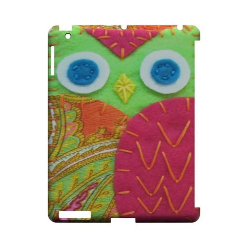 Neon Green/ Pink Geek Nation Program Exclusive Jodie Rackley Series Hard Case for Apple iPad (3rd & 4th Gen.)