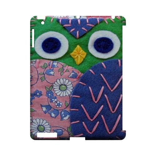 Green/ Blue Owl Geek Nation Program Exclusive Jodie Rackley Series Hard Case for Apple iPad (3rd & 4th Gen.)