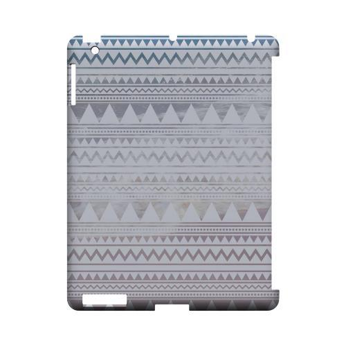 Beach Pattern Geeks Designer Line Zig Zag Series Slim Hard Case for Apple iPad (3rd & 4th Gen.)