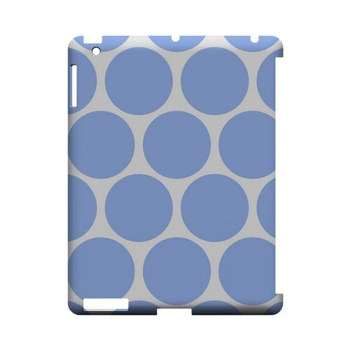 Big & Sky Blue Geeks Designer Line Polka Dot Series Slim Hard Case for Apple iPad (3rd & 4th Gen.)