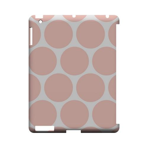 Big & Baby Pink Geeks Designer Line Polka Dot Series Slim Hard Case for Apple iPad (3rd & 4th Gen.)