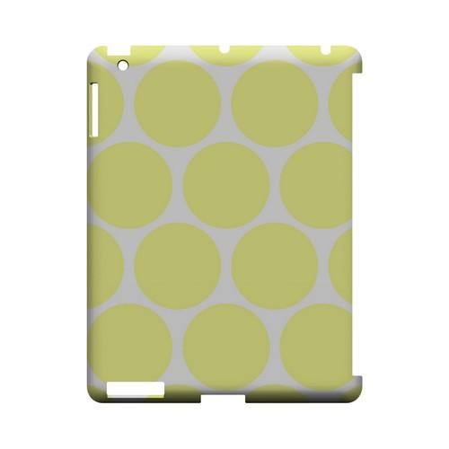 Big & Yellow Geeks Designer Line Polka Dot Series Slim Hard Case for Apple iPad (3rd & 4th Gen.)