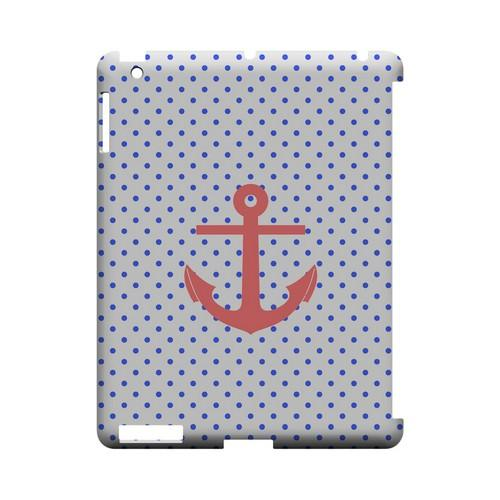 Anchor Geeks Designer Line Polka Dot Series Slim Hard Case for Apple iPad (3rd & 4th Gen.)