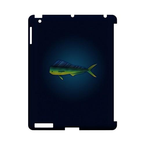 Mahi Mahi - Geeks Designer Line (GDL) Fish Series Hard Back Cover for Apple iPad (3rd & 4th Gen.)