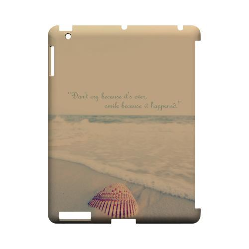 Don't Cry Geeks Designer Line Beach Series Slim Hard Case for Apple iPad (3rd & 4th Gen.)