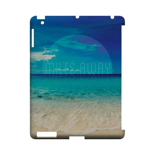 Miles Away Geeks Designer Line Beach Series Slim Hard Case for Apple iPad (3rd & 4th Gen.)