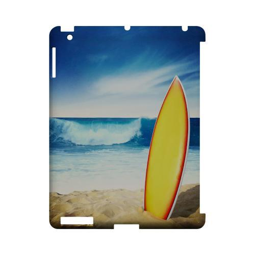 Surfland Geeks Designer Line Beach Series Slim Hard Case for Apple iPad (3rd & 4th Gen.)