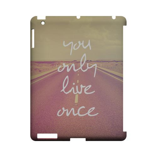 Open Road YOLO - Geeks Designer Line YOLO Series Hard Case for Apple iPad (3rd & 4th Gen.)