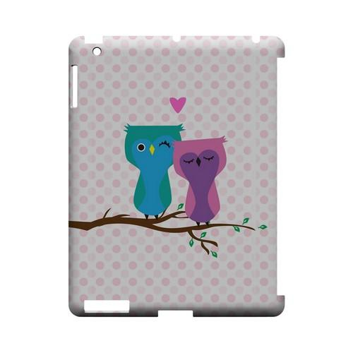 Owl Love You Forever - Geeks Designer Line (GDL) Owl Series Hard Back Cover for Apple iPad (3rd & 4th Gen.)