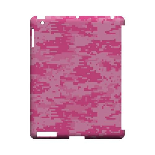 Pink Digital Camouflage - Geeks Designer Line Slim Back Cover for Apple iPad (3rd & 4th Gen.)