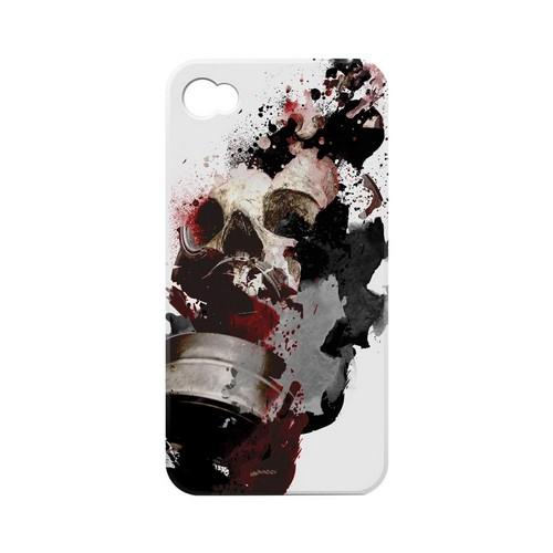 Geeks Designer Line (GDL) Apocalyptic Series Apple iPhone 4/4S Matte Hard Back Cover - The Addict