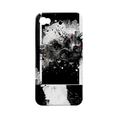 Geeks Designer Line (GDL) Apocalyptic Series Apple iPhone 4/4S Matte Hard Back Cover - Collapse