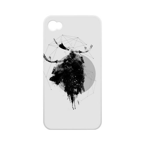 Geeks Designer Line (GDL) Apocalyptic Series Apple iPhone 4/4S Matte Hard Back Cover - The Shaman