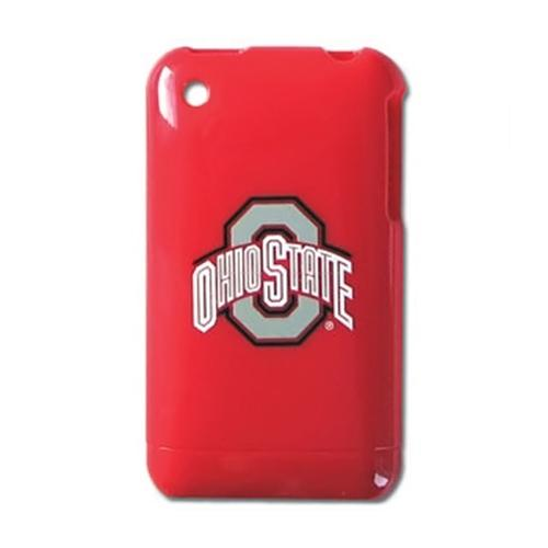 NCAA Licensed Apple iPhone 3G Hard Case - Ohio State Buckeyes