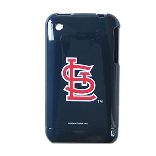 MLB Licensed Apple iPhone 3G 3GS Hard Case - St. Louis Cardinals