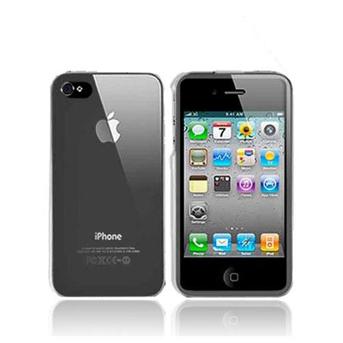 Apple Verizon/ AT&T iPhone 4, iPhone 4S Hard Case - Transparent Clear