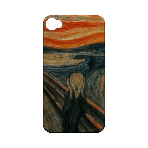 Edward Munch The Scream Geeks Designer Line Artist Series Matte Hard Case for Apple iPhone 4/4S