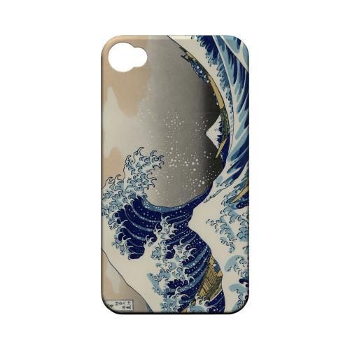 Katsushika Hokusai The Great Wave Off Kanagawa Geeks Designer Line Artist Series Matte Hard Case for Apple iPhone 4/4S