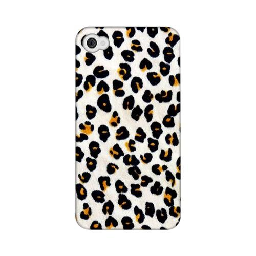 Albino Leopard Print Animal Series GDL Ultra Matte Hard Case for Apple iPhone 4/4S Geeks Designer Line