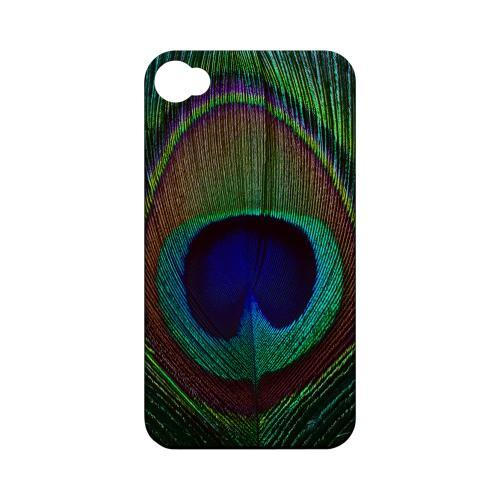 Colorful Peacock Feather Animal Series GDL Ultra Matte Hard Case for Apple iPhone 4/4S Geeks Designer Line