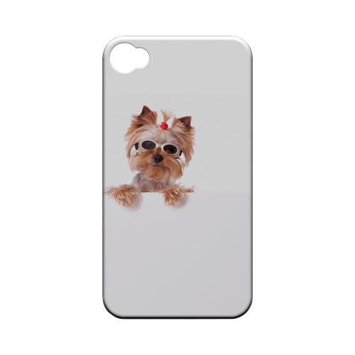 Yorkshire Terrier Geeks Designer Line Puppy Series Slim Hard Case for Apple iPhone 4/4S