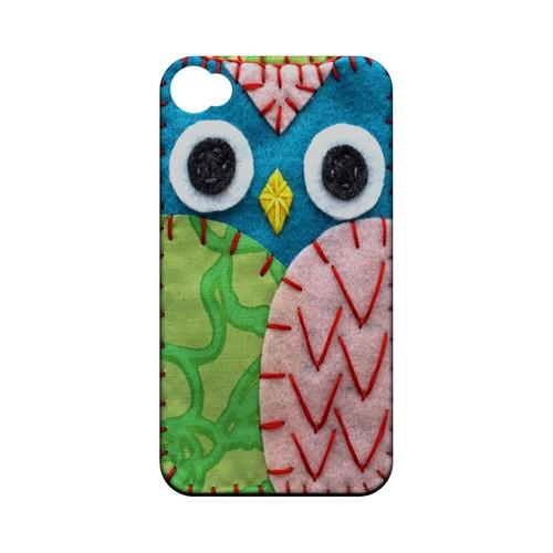 Blue/ Green Owl Geek Nation Program Exclusive Jodie Rackley Series Hard Case for Apple iPhone 4/4S