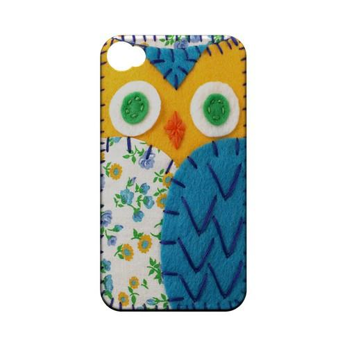 Gold/ Blue Owl Geek Nation Program Exclusive Jodie Rackley Series Hard Case for Apple iPhone 4/4S