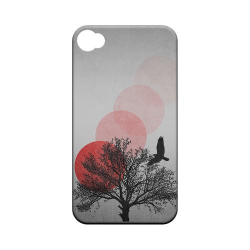 Sunset Fade Geeks Designer Line Polka Dot Series Matte Hard Case for Apple iPhone 4/4S
