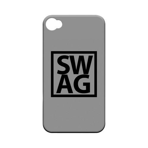 Swag Box - Geeks Designer Line Swag Series Matte Case for Apple iPhone 4/4S