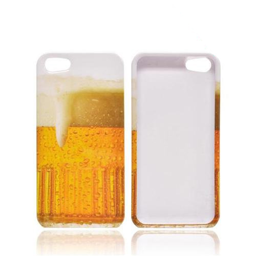 Apple iPhone 5/5S Hard Case - Golden Beer