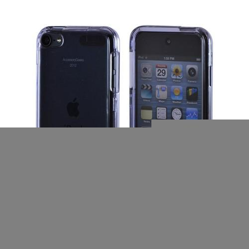 Transparent Smoke Hard Case for Apple iPod Touch 5