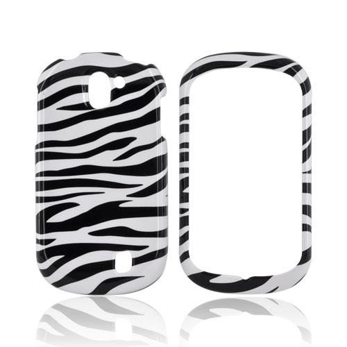 LG Doubleplay Hard Case - Black/ White Zebra