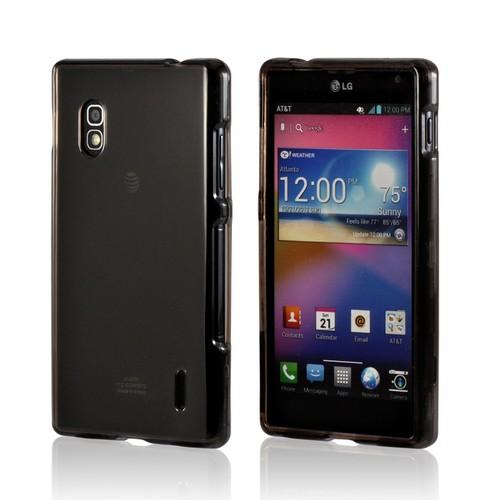 Transparent Smoke Hard Case for LG Optimus G (AT&T)