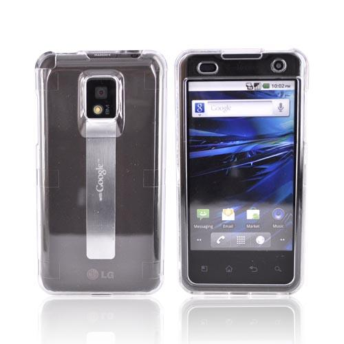 T-Mobile G2X Hard Case - Transparent Clear
