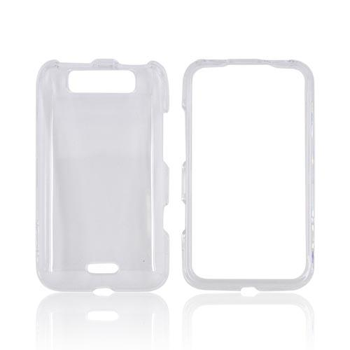 LG Viper 4G LTE/ LG Connect 4G Hard Case - Transparent Clear