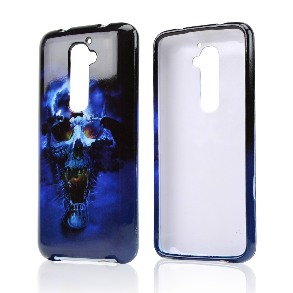 Blue Skull Hard Case For LG G2 (AT&T, T-Mobile, & Sprint)