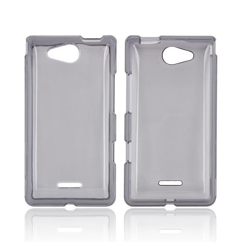 LG Lucid 4G Hard Case - Transparent Smoke