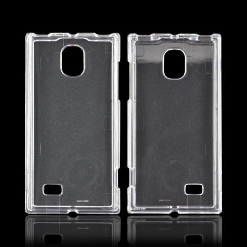 LG Spectrum 2 VS930 Hard Case - Transparent Clear
