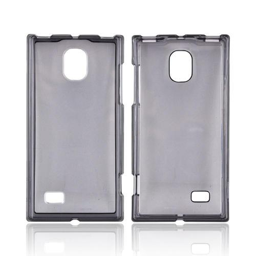 LG Spectrum 2 VS930 Hard Case - Transparent Smoke