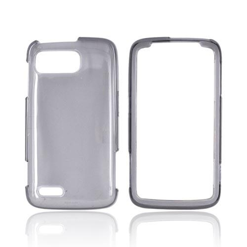 Motorola Atrix 2 Hard Case - Transparent Smoke