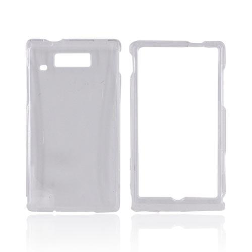 Motorola Triumph Hard Case - Clear