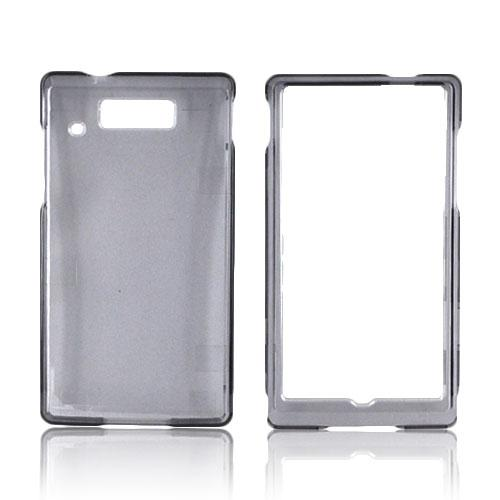 Motorola Triumph Hard Case - Transparent Smoke
